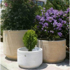 Jardiniere cylindrique PM